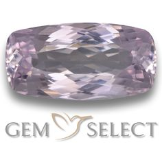 GemSelect features this natural untreated Kunzite from Afghanistan. This Pink Kunzite weighs 12.5ct and measures 19.2 x 9.9mm in size. More Cushion-Cut Kunzite is available on gemselect.com #birthstones #healing #jewelrystone #loosegemstones #buygems #gemstonelover #naturalgemstone #coloredgemstones #gemstones #gem #gems #gemselect #sale #shopping #gemshopping #naturalkunzite #kunzite #pinkkunzite #cushiongem #cushiongems #pinkgem #pink Pink Gemstones, Loose Gemstones, Natural Gemstones, Buy Gems, Gem S, Cushion Cut, Gemstone Colors, Afghanistan, Light Purple