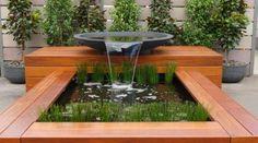 30 ideas para decorar tu jardín con fuentes                                                                                                                                                                                 Más