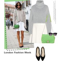"""""""LFW 2015: Less is more."""" by stream on Polyvore"""