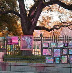 French Quarter Art, New Orleans