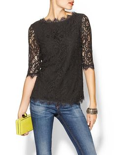 This top is amazing!  So flattering.  Gorgeous neckline and sleeves and can be dressed up or down.  I love it so much!