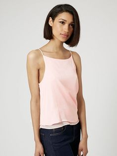 www.imdb.me/jessicasirls  Fashion style Cami tank blush pink  9 Ways to Finally Embrace More Color This Spring via @WhoWhatWear