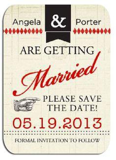#savethedate #DIY #wedding