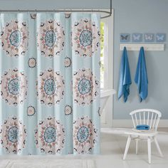 Ink+Ivy Kids Hana Shower Curtain