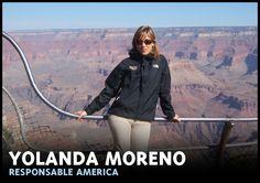 Experta en viajes al continente americano.