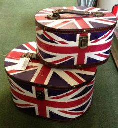 Union Jack Boxes £9.50 and £7.50.