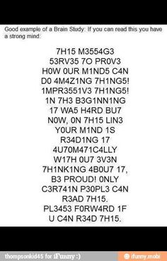 Only certian people can read this