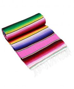 Always liked the look of these Serape blankets.