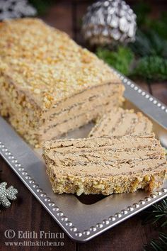 prajitura-cu-ness-si-nuca-1 Sweets Recipes, No Bake Desserts, Delicious Desserts, Cake Recipes, Yummy Food, Romanian Desserts, Romanian Food, Pie Dessert, Special Recipes