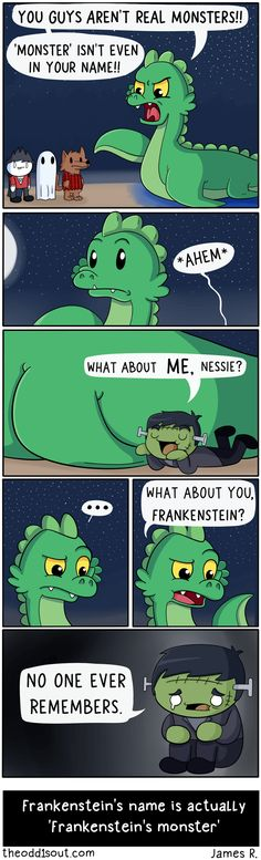 Frankenstein was the doctor's name, the creature is just The Monster or Frankenstein's Monster.