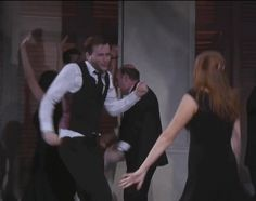 Animated gif from Much Ado About Nothing with Catherine Tate & David Tennant
