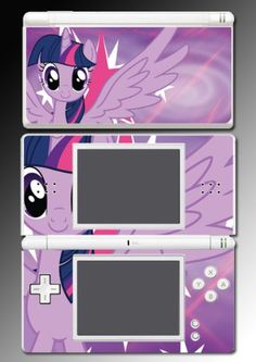 Amazon.com: Twilight Sparkle My Little Pony Friendship is Magic Video Game Vinyl Decal Skin Protector Cover for Nintendo DS Lite: Video Game...