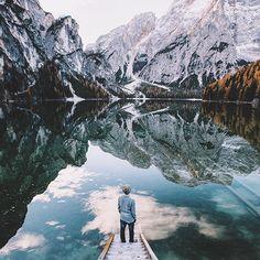 Lago di Braies still in my mind..