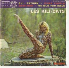 To say Treena was thrilled when she got the album cover for Les Kili-Cats is an understatement.