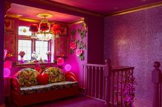 Amy Griffith talks exclusively to The LuxPad about Eaton House, the project by her & James Lloyd-Roberts Room Ideas Bedroom, Bedroom Decor, Eaton House, Barbie Dream House, Aesthetic Room Decor, Pink Houses, Pink Room, Dream Rooms, My Living Room