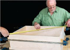 How To: Ian Kirby Woodworking Design: Squaring Up Measurements with Tape Measure or Pinch Rods