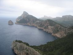 Majorca coastline, Balearic Islands