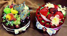 Gallery.ru / Фото #6 - Конфетные торты и корзины - GalinaF33