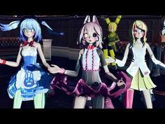 I love it [MMD] [FNAF] Toxic [Mangle, Bonnie,Chica, and others] - YouTube