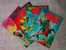 Comic Garra de Fuego: Lote de 4 numeros - DS Comics