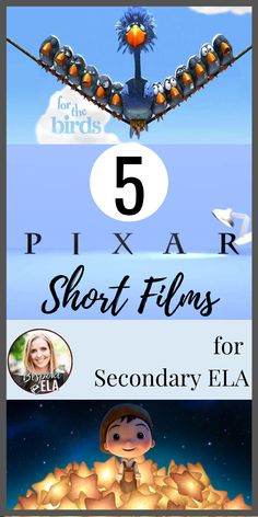 Appearing as introductions to feature length films, Disney Pixar shorts have become some of the most highly anticipated aspects of feature film releases. These short films are excellent tools to use in secondary English Language Arts in grades 6-12 because of their concise platform for targeting literary (in form of a visual text) analysis through literary devices. Check out these FIVE short films to practice analysis! #bespokeela #pixar #literaryanalysis #literaryelements #englishteacher Middle School Ela, High School, School Fun, Teaching Character Traits, Close Reading Lessons, Pixar Shorts, Literary Elements, English Language, Language Arts