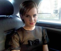 """'""""On my way to the launch of Lancôme Rouge in Love at Selfridges. Exciting! Em xx.'"""