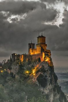 Fortress of Guardia - San Marino Italy