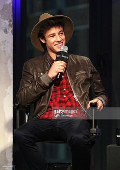 Cameron Dallas attends AOL BUILD Presents: 'The Outfield' at AOL Studios In New York on November 2, 2015 in New York City.