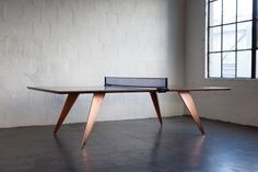 "Ping Pong/Table Tennis Conference Table c.2014 Dimensions (Shown) :  29-30"" H 