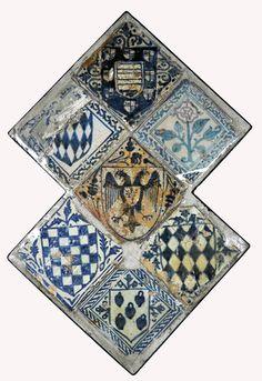 Tiles, 15th century Valencia Inventario: FC.1994.02.123