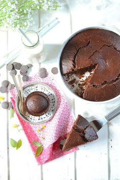 Gâteau au Chocolat { #Vegan } @ Les Recettes de Juliette - gourmand à souhait !