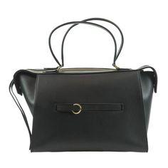 Celine Small Ring Handbag Black Tote Bag