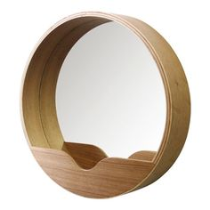 Miroir rond en chêne avec vide poche Round Wall - 404 not found - FS INSPIRE Mirror Wall Collage, Wall Mirrors Entryway, Mirror Gallery Wall, Big Wall Mirrors, Silver Wall Mirror, Lighted Wall Mirror, Rustic Wall Mirrors, Fireplace Mirror, Round Wall Mirror