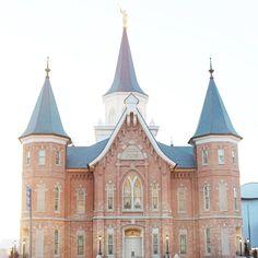 Provo LDS Temple.