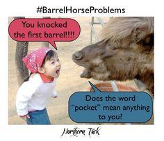 Barrel racing memes
