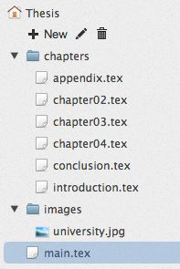 How to Write a Thesis in LaTeX pt 1 - Basic Structure - ShareLaTeX, Online LaTeX Editor