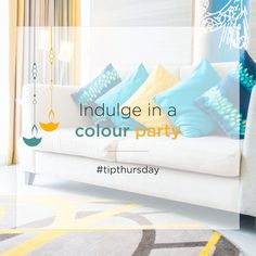 Breathe new life into your home with colourful vibes to brighten up your day! Spruce every room in your house with colorful cushions, rugs or lamps that tie in with the theme of your room.  Thinking of Renting . Think of Rentickle. . . #tipthursday #diwali #lightupyourhome #lightupyourlife #addcolortoyourhome #addcolortoyourlife #homedecor #rentickle #colorfulfurniture #homedecoration #luxurylifestyle #luxuryhome #designideas #designinspo