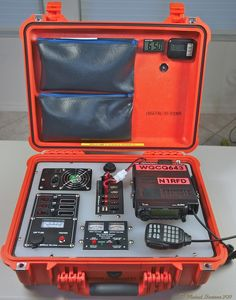"""What is my definition of a Communications Go-Kit? A Communications Go-Kit (or Radio-Ready-Kit) is made up of a portable """"Amateur radio"""" station and assorted personal gear that can quickly be assembled to respond to a """"Call Radios, Emergency Radio, Emergency Preparedness, Emergency Preparation, Ham Radio Kits, Camping, Portable Ham Radio, Mobile Ham Radio, Radio Amateur"""
