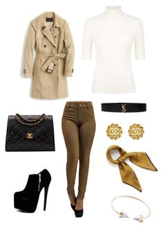 """""""Untitled #28"""" by gabriela-agredo on Polyvore featuring Valentino, J.Crew, Chanel, Yves Saint Laurent and Mulberry"""