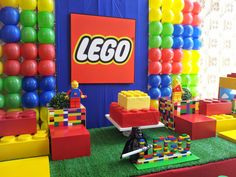Shop all your lego party supplies from One Stop Kids Party Shop Australia Today. Lego Themed Party, Lego Birthday Party, 6th Birthday Parties, 7th Birthday, Birthday Ideas, Lego Party Decorations, Kids Party Themes, Party Ideas, Lego Party Supplies