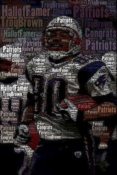 Troy Brown - Patriots Hall of Famer