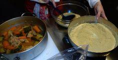 Couscous con carne di pollo e zucca