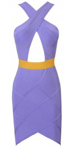 Ice cream shades never looked so good. This gorgeous bandage dress features a keyhole cut bust, lurex gold waist and cross-hatched line. Made from our luxury bandage fabric that holds you in and smooths you out.Length: Approx 85cmSpecialist/Gentle Dry Clean OnlyAll dresses are made to order. You must therefore allow upto 6-12 days for delivery.