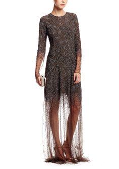 THEYSKENS' THEORY Embellished Sheer Overlay Gown | ideel #YEEEEEESSSSSSSSS
