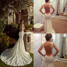 Cheap dress womens, Buy Quality dress velvet directly from China dress up casual dress Suppliers:         2015 Popular Sweetheart Mermaid Ivory lace Appliques Chapel Train Beading Wedding Dress Backless High Fashion Bri