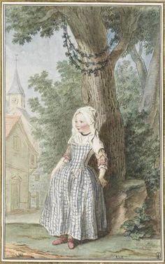 Annette de Fourqueux (non daté), Louis Carrogis dit Carmontelle Exposé au Musée Condé à Chantilly