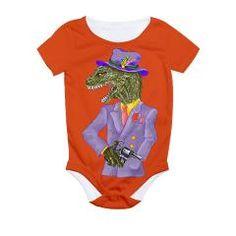 Sauvosaurus All Over Print Bodysuit> Sauvosaurus> Red Queen's Elf