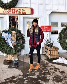 It wouldn't be Christmas week without a visit to the tree farm!  http://liketk.it/2pWPv @liketoknow.it  #liketkit   #ltkholidaystyle   #wiwt