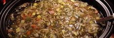 Groentesoep uit de slowcooker Crockpot, Slow Cooker, Grains, Rice, Beef, Food, Meat, Meal, Crock Pot