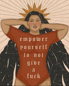 Empowerment Quotes, Women Empowerment, Illustrators On Instagram, Body Love, Self Love Quotes, Looks Cool, Powerful Women, Positive Affirmations, Aurora Sleeping Beauty